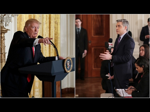 Thumbnail: Trump spars with CNN reporter