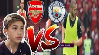 ARSENAL FIRST MATCH VS MANCHESTER CITY Fifa 19 Career Mode Ep2