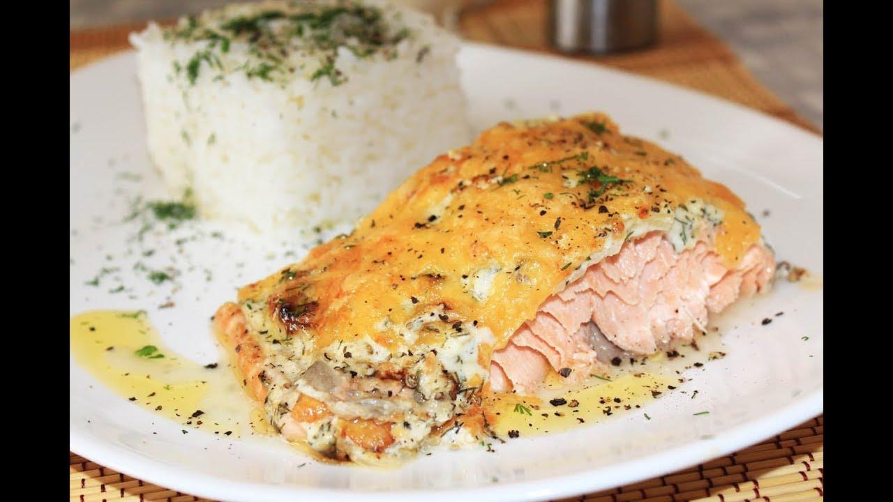 Можно ли запечь рыбу в духовке с сыром