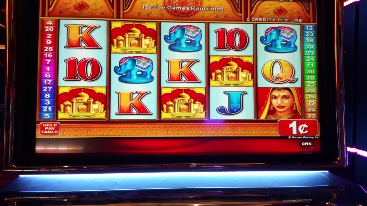 Graceful Lotus Slot Machine