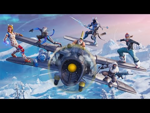 Fortnite Season 7 New Location , Map Changes , New Items ** Yeti Cave **