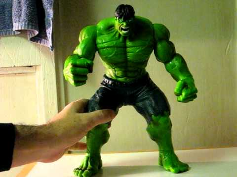 Ebay Item Demo 11 Inch Electronic Talking Incredible Hulk Youtube