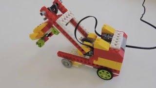 Lego Wedo | Інструкція по збірці Евакуатора