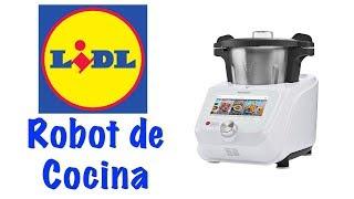 Vlog 46 Robot de Cocina de Lidl   Silvercrest Monsieur Cuisine Connect   Yasobas Vlogs