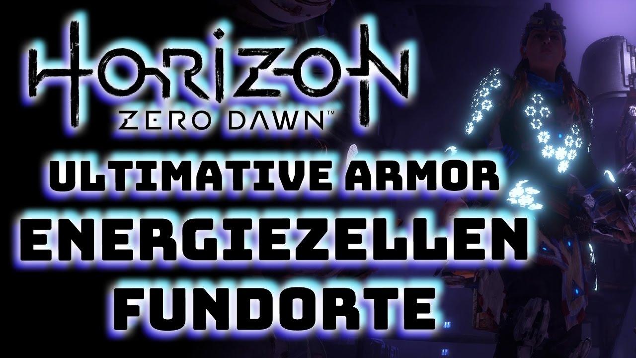 horizon zero dawn energiezellen karte Horizon Zero Dawn   Fundorte Energiezellen   Schildweberin Rüstung