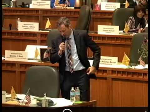Rep. Nate Gentry explains omnibus crime bill, 2018