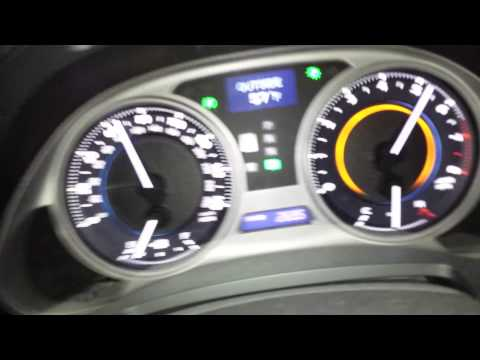 07 lexus is350 0-100 mph run