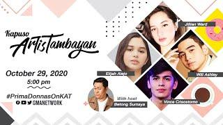 Kapuso ArtisTambayan: Cast of 'Prima Donnas' | LIVE October 29, 2020
