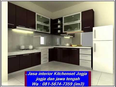 Wa 081 5674 7359 Im3 Jasa Kitchenset Jogja Interior Harga Kabinet Dapur Pasang Siap Kitchen