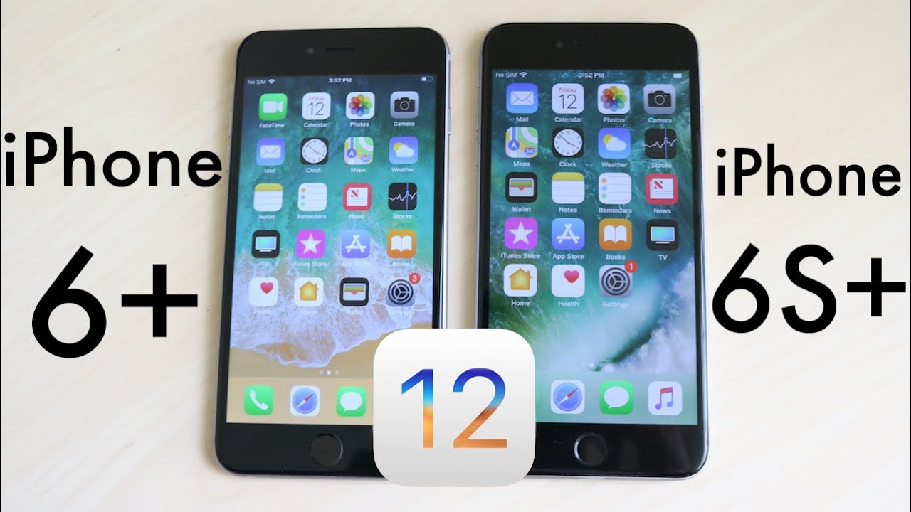 new products 835b0 e78f2 iPHONE 6 PLUS Vs iPHONE 6S PLUS On iOS 12! (Speed Comparison) (Review)