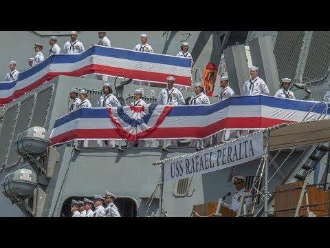 USS Rafael Peralta Commissioned