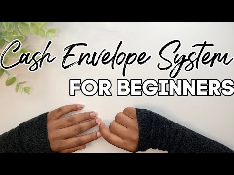 Cash Envelope System for Beginners | How to Start Budgeting | Budget for Beginners