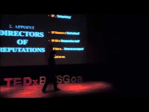 CEO - The Brand Champion | Rahul Sen | TEDxBITSGoaLive