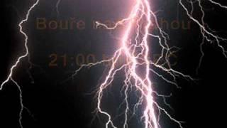 Bouřka nad Prahou 13.7.2011