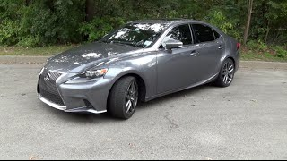 2014 Lexus IS350 F Sport Tour & Test Drive