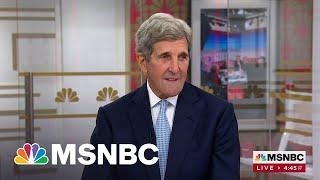 John Kerry: President Biden Wants Diplomacy First, Not War First