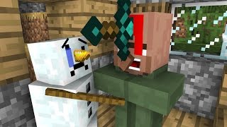 - Snowman Life Minecraft Animation