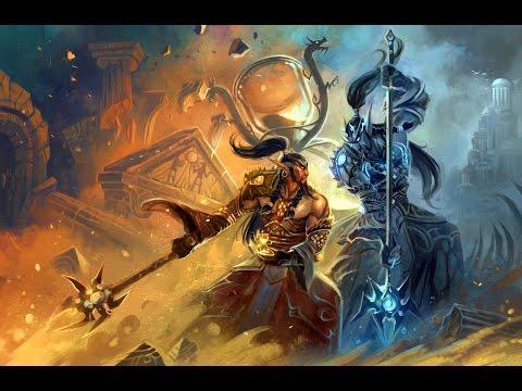 World of Warcraft - реплики Ноздорму и Дорнозму.
