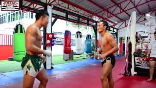 Saenchai sparring with Manachai 8 minute round🔥💪