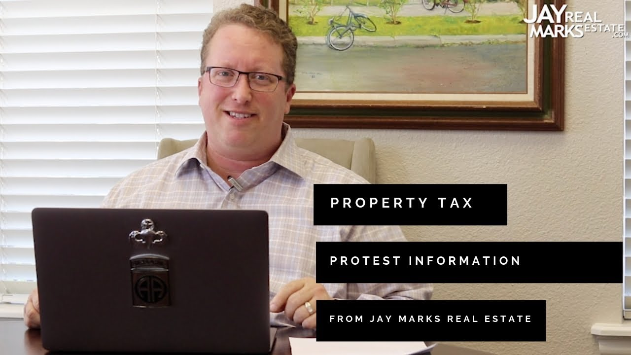 Texas Property Tax Protest Information