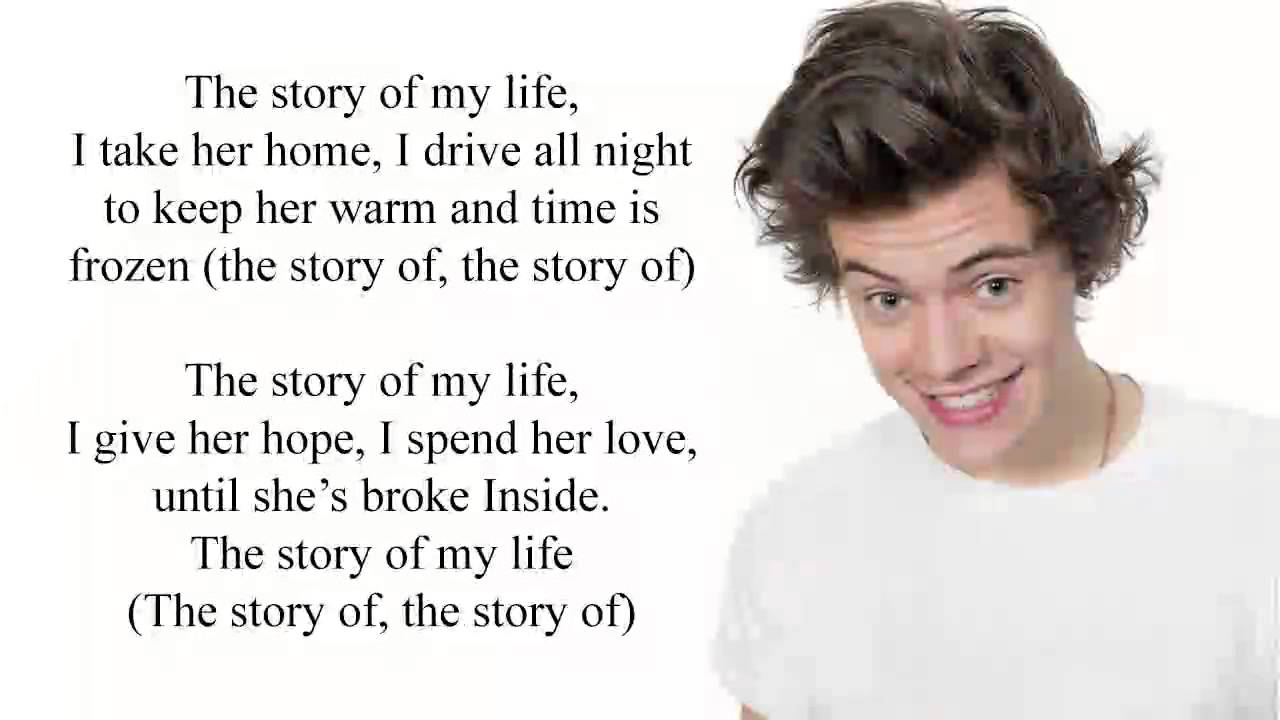 Story of My Life - One Direction Lyrics - YouTube