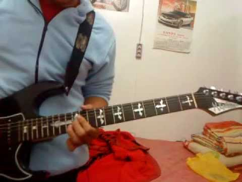 Pelan2 saja guitar cover by Hendry.MP4