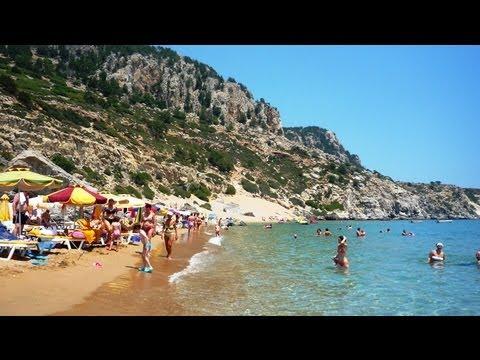 Naked mature beach