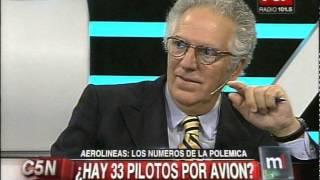 C5N - MINUTO UNO: CRUCES POR EL INFORME DE AEROLINEAS ARGENTINAS