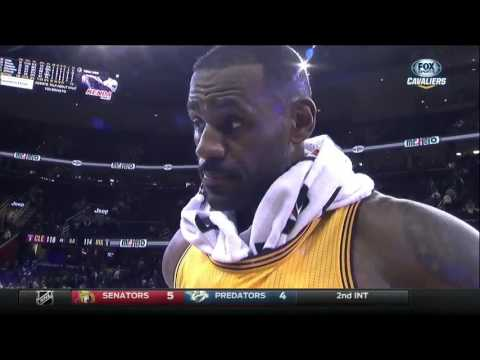 LeBron James scores 17 in 4th to lead Cleveland Cavaliers over Jazz