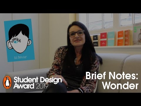 Student Design Award 2019 Brief Notes: Anna Billson on Wonder