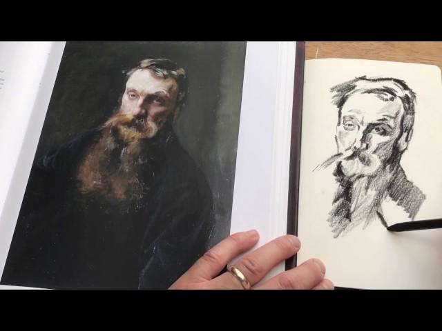 Alan Reed Sketchbook Study in Moleskine