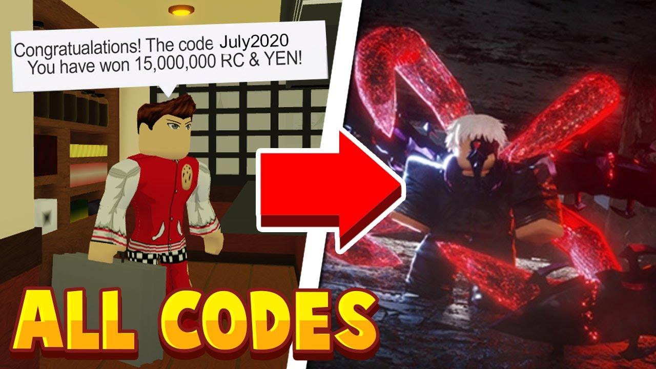 Roblox Ro Ghoul Codes June 2020