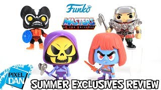 Funko Masters of the Universe Pop & VYNL Summer Exclusives Review