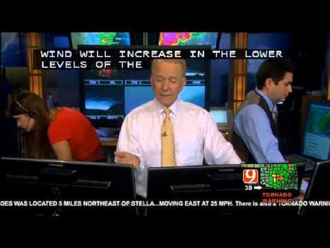 Tornado hits Oklahoma news9.com recording