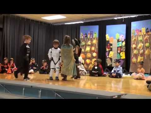 Will's kindergarten halloween program