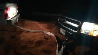 Sadiq Truck is Stuck in Desert(2)