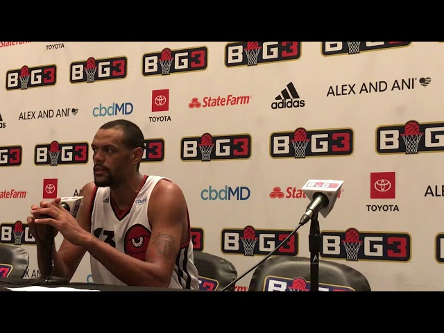 BIG 3 — Patrick O'Bryant | Shares story about Daughter | Requests that people Donate Blood | Atlanta