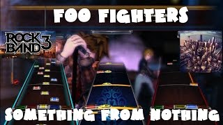 Foo Fighters - Something From Nothing - @RockBand 3 DLC Expert FB Playthrough (January 13th, 2015)