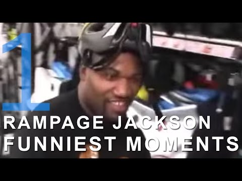 Rampage Jackson Funniest Moments Part 1