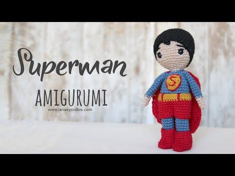 Batman #amigurumi crochê parte 2 - YouTube | 360x480