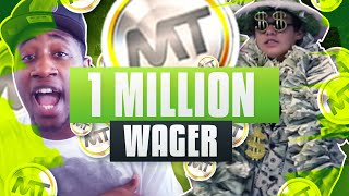 HUGE 1 MILLION MT WAGER!!! NBA 2K16