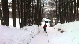 Горные лыжи - Боровский курган (Чулково)