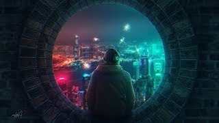 Cyberpunk Effect Photo Manipulation Photoshop Tutorial