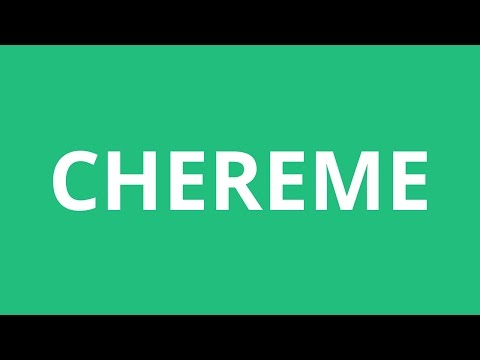 How To Pronounce Chereme - Pronunciation Academy