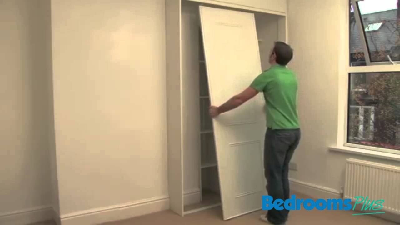 It\u0027s YouTube. Uninterrupted. & Sliding door wardrobes - Fitting your Tracks \u0026 Doors - YouTube