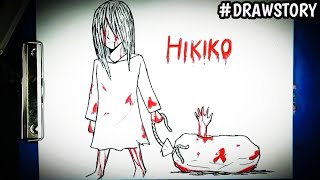 Asal Usul Hantu Hikiko || DRAWSTORY