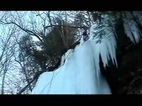 Michigan  ice fest   ice climbing
