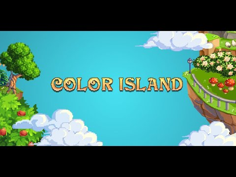 Pixel Art: Color Island (Paint by Number Coloring Book)