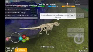 Roblox Dinosaur Simulator: Just Mr T Rex :)