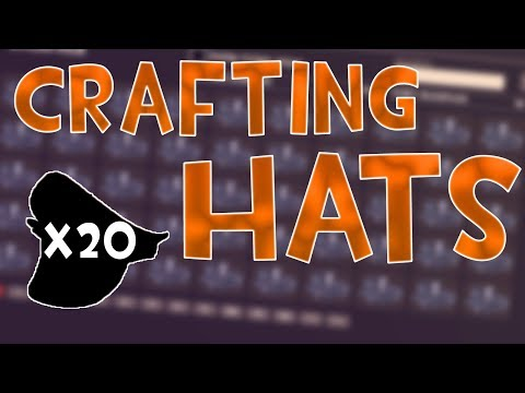 TF2 - I Crafted A LOT Of Hats To Giveaway...